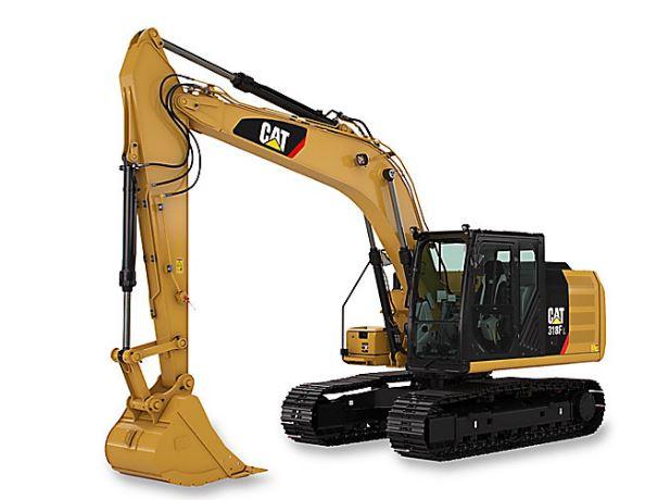 CAT 318F L SmallExcavator