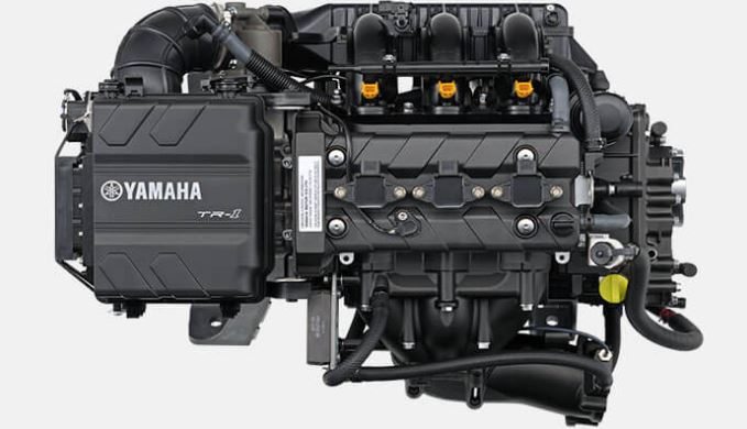 Yamaha EX Deluxe TR 1 Engine