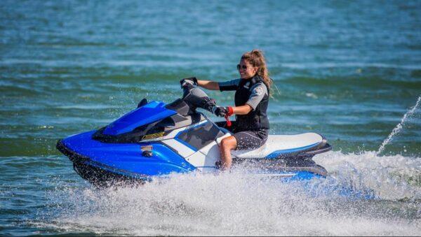 Yamaha EX Deluxe Waverunner Jet ski Water Craft