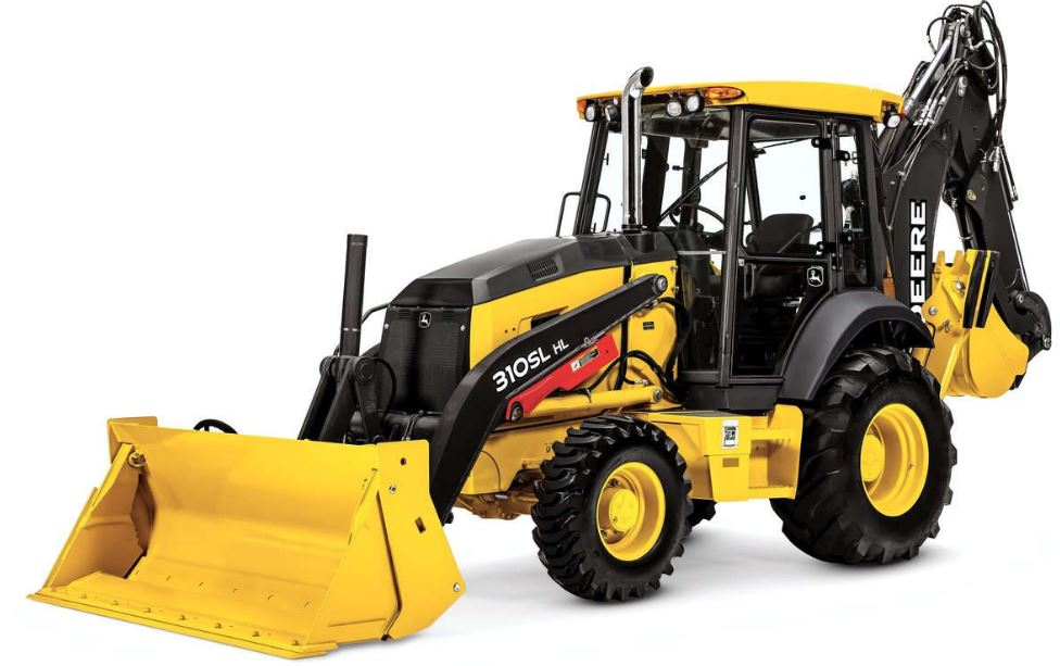 John Deere 310SL HL Backhoe Loader Construction Equipment