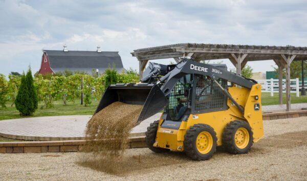 John Deere 312GR Skid Steer Construction Equipment price