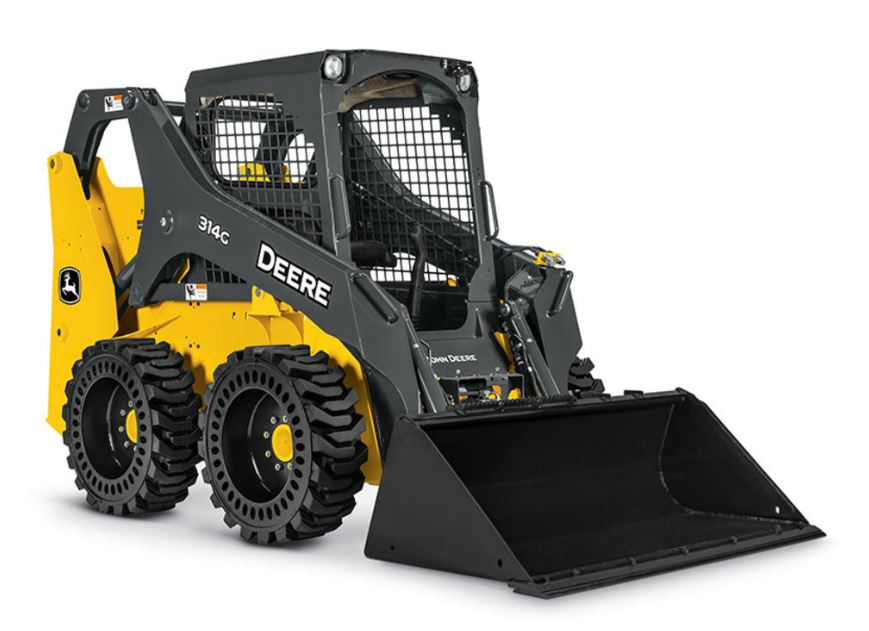 John Deere 314G Skid Steer Construction Equipment