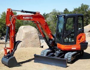 KubotaKX040-4Excavator price