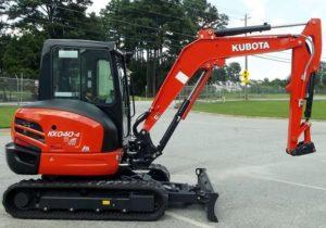 KubotaKX040-4AExcavator price