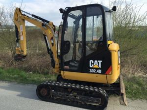 Caterpillar 302 4D Mini Excavator price