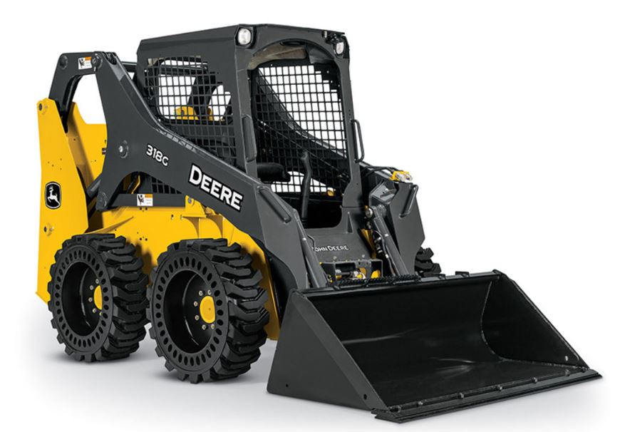 John Deere 318G Skid Steer Construction Equipment