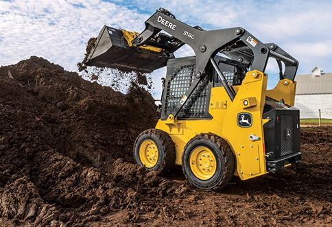 John Deere 318G Skid Steer Key Features