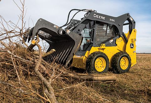 John Deere 318G Skid Steer Specifications