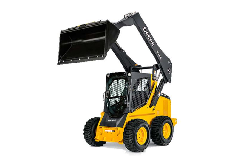 John Deere 324E Skid Steer Construction Equipment