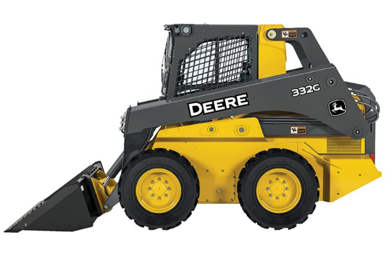 John Deere 332G Skid Steer Construction Equipment