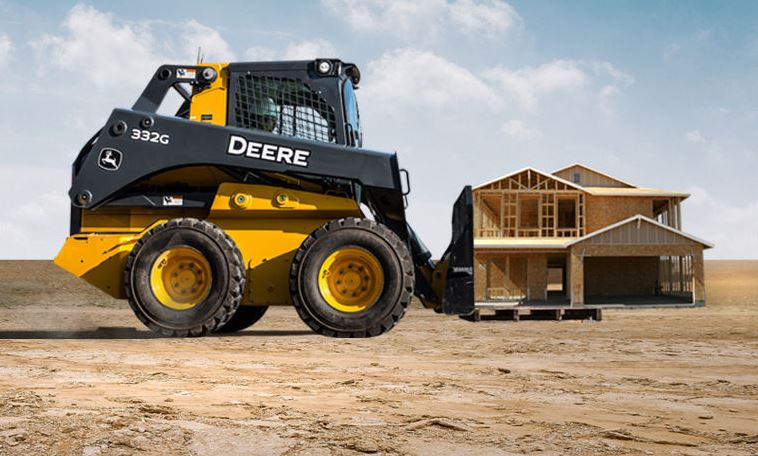 John Deere 332G Skid Steer Key Features