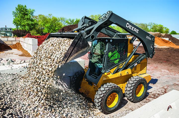 John Deere 332G Skid Steer Price