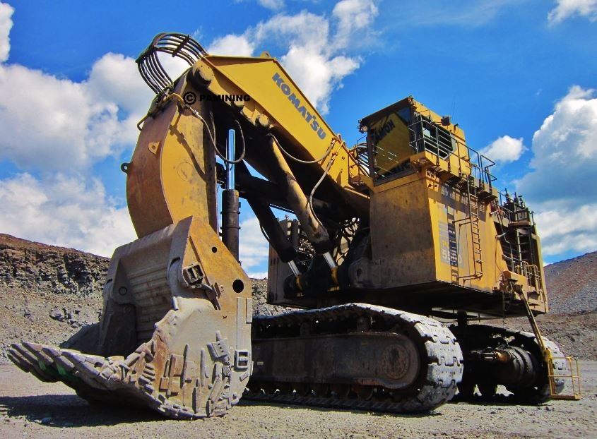 Komatsu PC5500-6 Mining Shovel Specifications