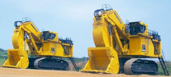 Komatsu PC5500-6 Mining Shovel Standard Features