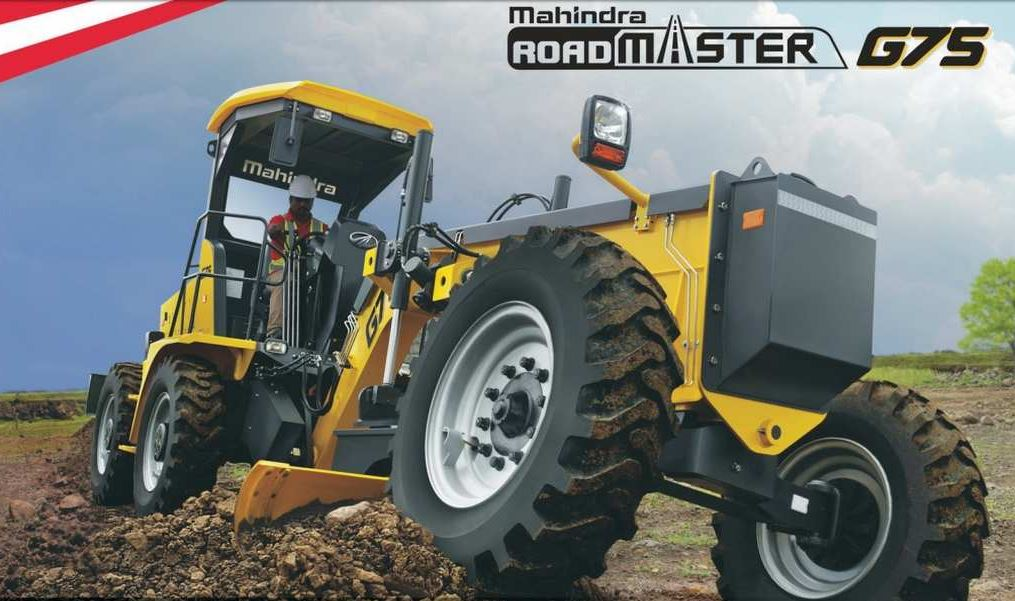 Mahindra RoadMaster G75 Construction Equipment