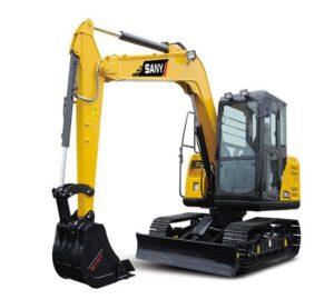SANYSY80C-9 8 Tonne Excavator price in India