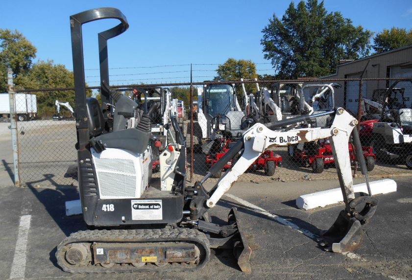 Bobcat 418 Mini Excavator Overview