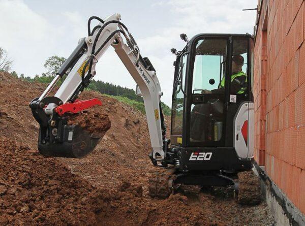 Bobcat E20 Compact Excavator Price