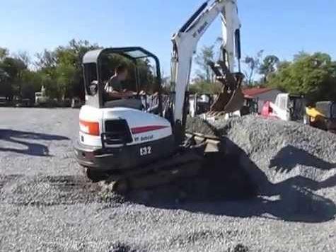 Bobcat E32 Mini Excavator Key Facts