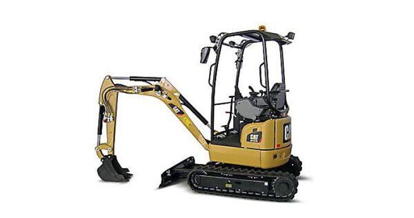 CAT 301.7D CR Mini Excavator Overview