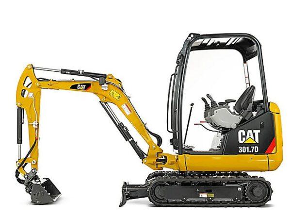 CAT 301.7D Mini Excavator Overview
