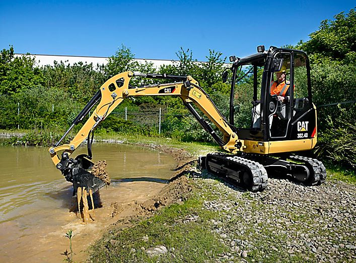 CAT 302.4d Mini Excavator Price