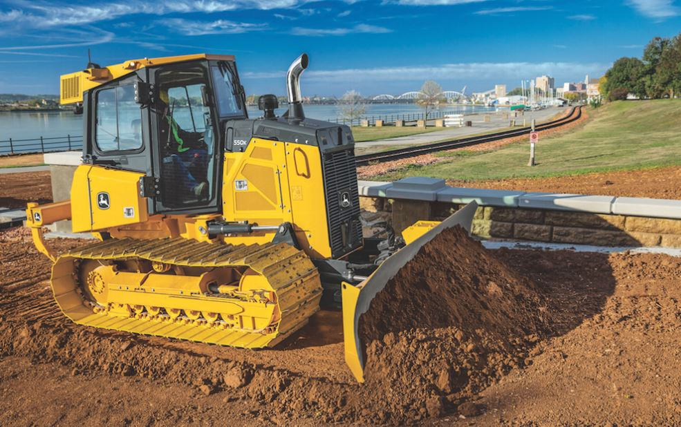 John Deere 550K Crawler Dozer Key Features