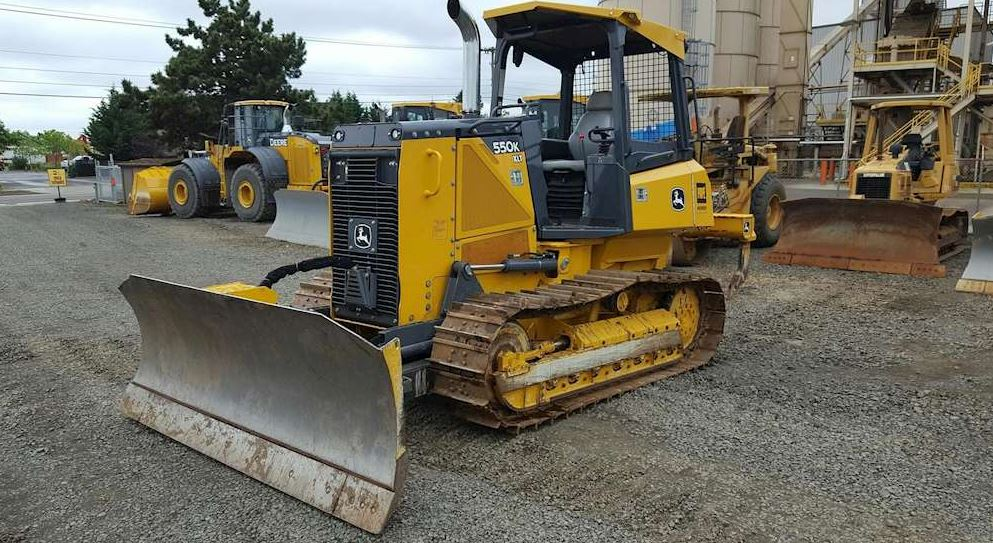 John Deere 550K Crawler Dozer Specifications