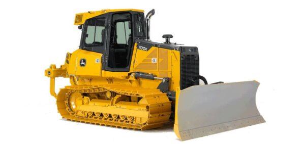 John Deere 700K Crawler Dozer Construction Equipment