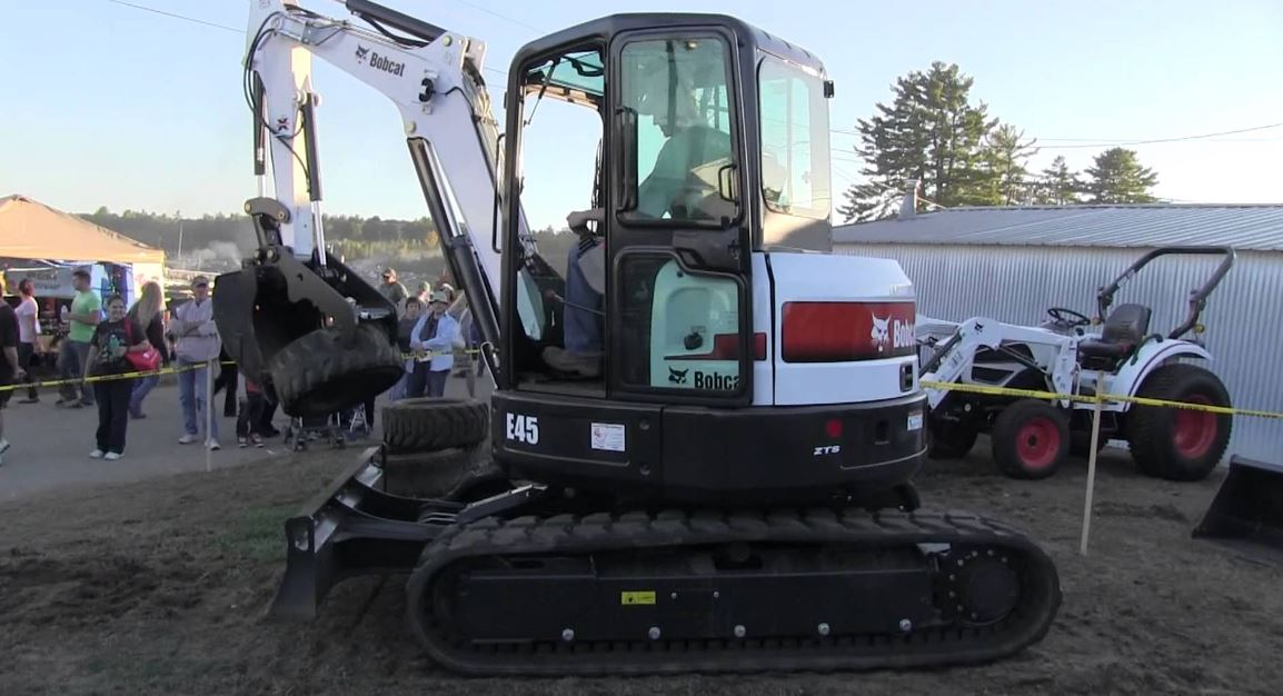 Bobcat E45 Mini Excavator Price