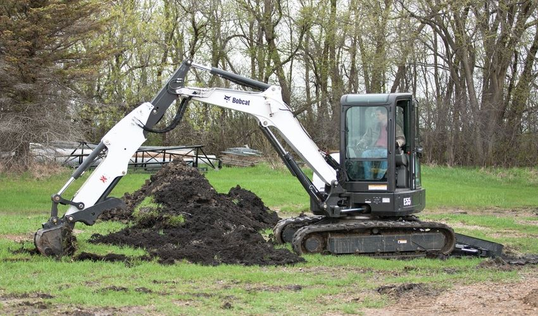Bobcat E55 Mini Excavator price
