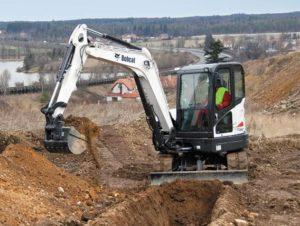 Bobcat E63 Mini Excavator