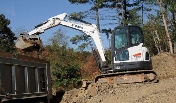 Bobcat E63 Mini Excavator Overview