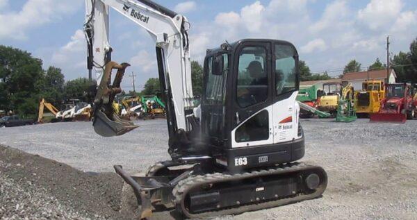 Bobcat E63 Mini Excavator Price