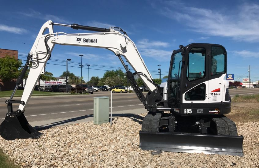 Bobcat E85 Mini Excavator Overview