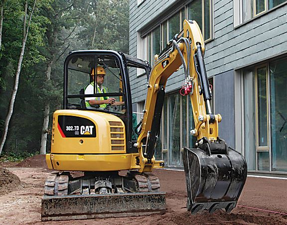 CAT 302.7D CR Mini Excavator Specifications