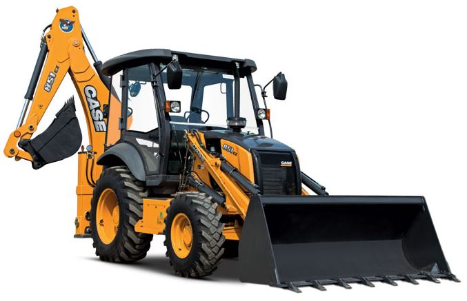 Case 851EX Backhoe Loader