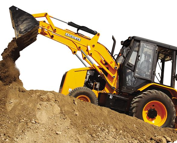 Escorts Digmax - II (2 WD) Backhoe Loader Earthmoving Equipment