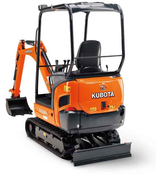 Kubota KX018-4 Mini Excavator Specifications
