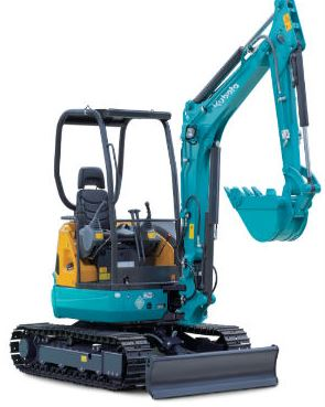 Kubota U30-5 Mini Excavator Specifications