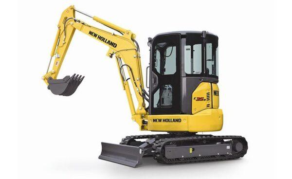 New Holland E35B Mini Excavator price specs