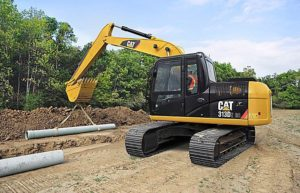 Caterpillar 313D Series 2