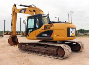 Caterpillar 320D RR price
