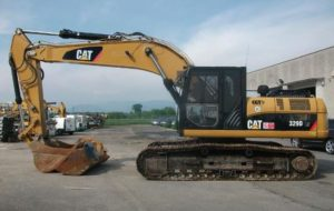 Caterpillar 329D price in India