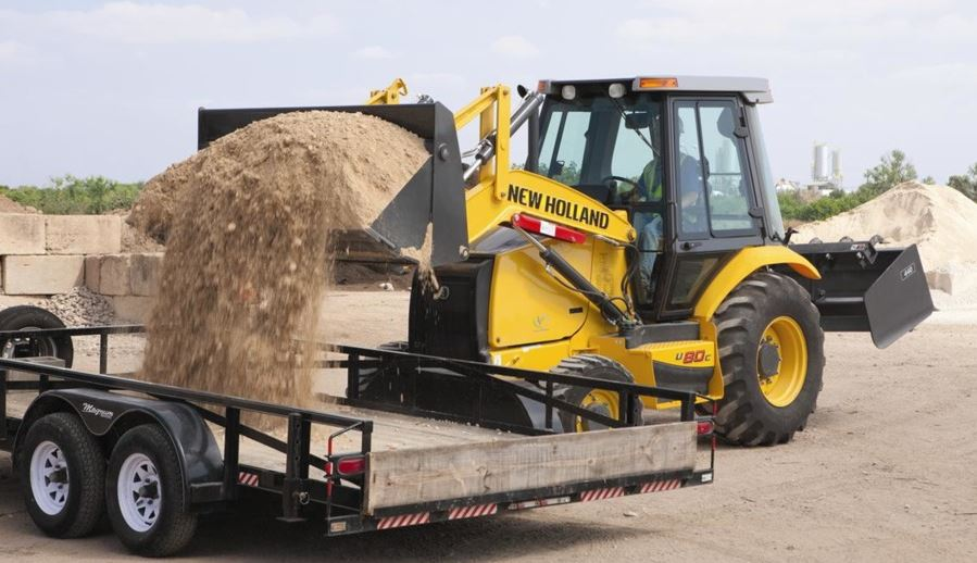 New Holland B95C LR Backhoe Loader