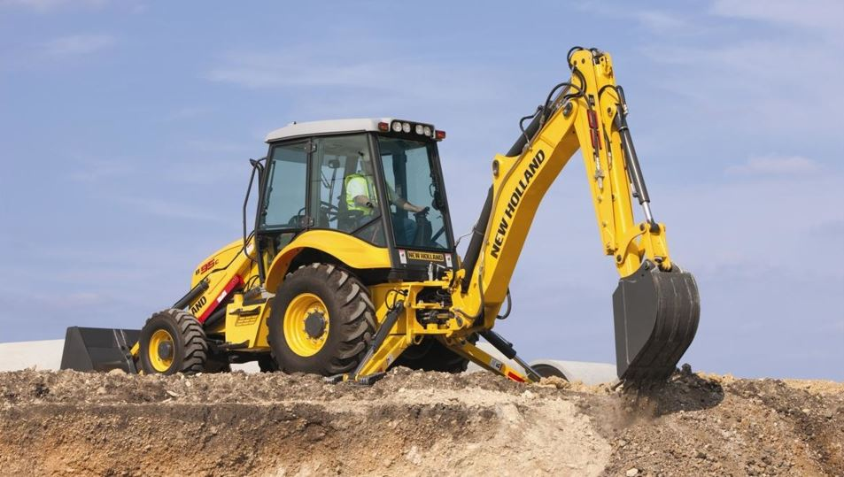 New Holland B95C TC Backhoe Loader