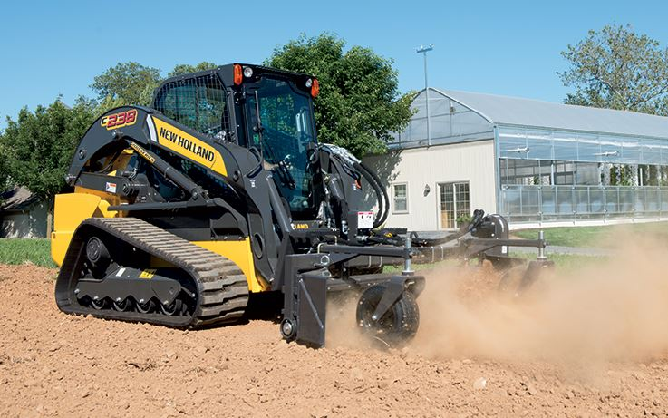 New Holland C238 Compact Track Loader