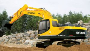 Hyundai R210LC-9 H-C price in india