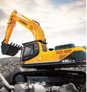 Hyundai R430LC-9 price in india