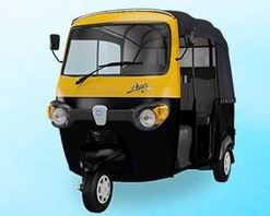 Piaggio Ape City Petrol auto rickshaw price in india